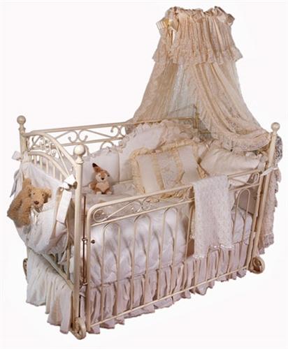 картинка Кроватка качалка металлическая Etoile